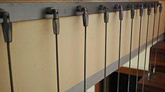 Separadores con cable de acero inoxidable